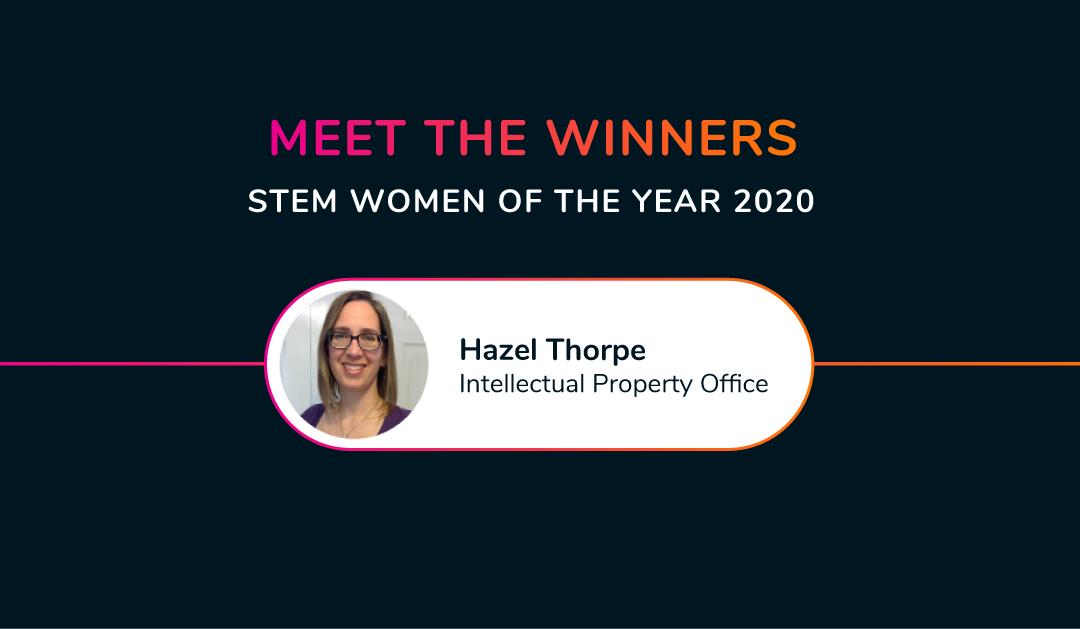 Meet the 2020 winners – Hazel Thorpe IPO